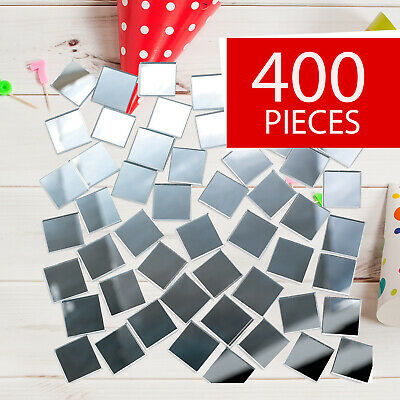 Mirror Tiles - Craft Supplies - 400 Pieces