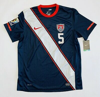 5 Onyewu Nike Dri-Fit USA 2010 Fifa World Cup Jersey  Size XL - New With Tags