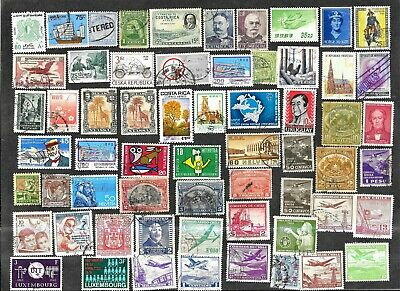 Worldwide UsedMint Stamps - Pictorials With 2 1975 Show Covers Y8