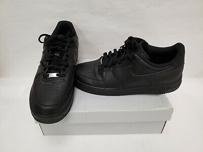 Nike Air Force 1 Low 07 Basketball Shoes Black 315122-001 Sz 13 P5L21389B