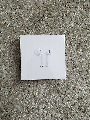 Apple Airpods 2nd Gen Authentic w Wireless Charging Case New