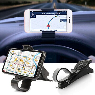 Car Dashboard Mount Holder Stand Clamp Cradle Clip For Cell Phone Samsung iPhone