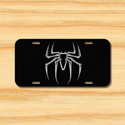 Spider man Black Spider Vehicle Aluminum License Plate 6x12  Free Shipping