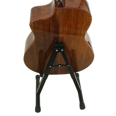 Universal Folding A Frame Foldable Portable Metal Music Stand for Guitar Bass