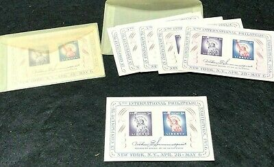 US Souvenir Sheet 1075 1956 issue 5th Intl Philatelic Exhibition  MINT
