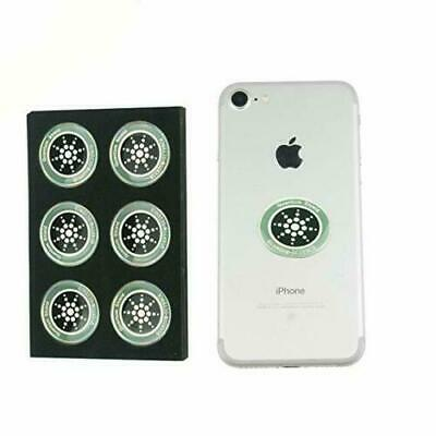 Anti-Radiation EMF Sticker Quantum Shield for Cell Phone PACK OF 6 12 18 24