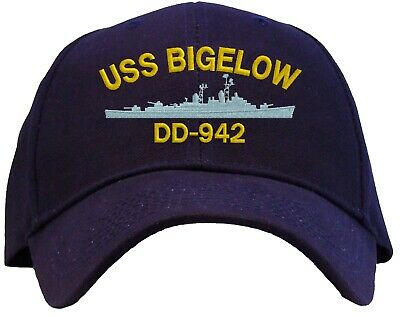 USS Bigelow DD-942 Embroidered Baseball Cap - Available in 3 Colors Hat