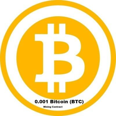 Mining Contract 1 Hour bitcoin Processing Speed THs 0-001 BTC