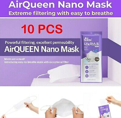 Breathable Non Woven Air Queen Nano from Korea Approved 10 PC