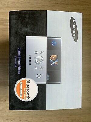 SAMSUNG SPP-2040 Digital Photo Printer, BOXED WITH CABLES AND INSTRUCTIONS