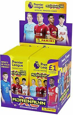 Premier League Trading Cards 202021 Adrenalyn XL 70 Packs 6 Cards Each Packet