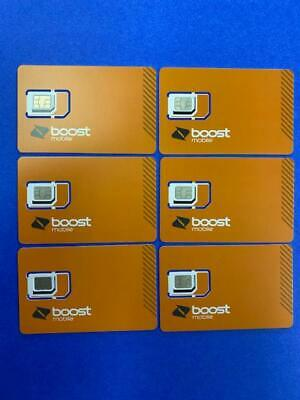 Sim Card - 5G - Expanded Network-TN Boost Mobile For iphones -  Android - New