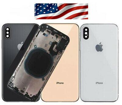 Back Glass Full Assembly Rear Housing For iPhone XS and MAX  XR IPHONE 8-