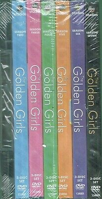 The Golden Girls Complete Series  21 DVD  Bundled Set USA New Free Shipping