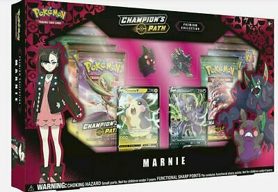Pokemon Champions Path Premium Collection Marnie Collection New Sealed in stock