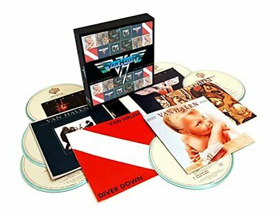 Van Halen The Studio Albums 1978-1984 BRAND NEW 6 CD BOX SET