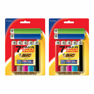BIC Classic Lighter Assorted Colors 14-Pack