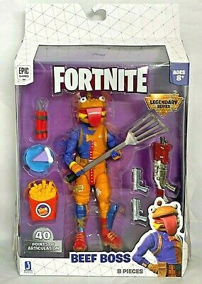 Fortnite Legendary Series 6 Beef Boss Action Figure Pack Toy NEW 2020 Jazwares