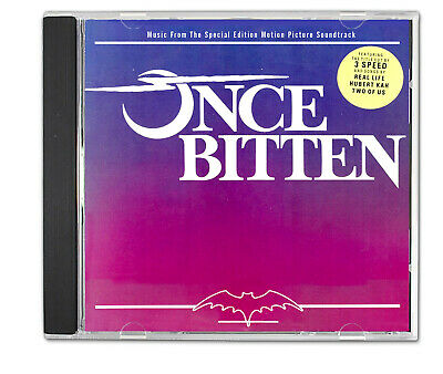 ONCE BITTEN 1985 Special Edition Film Soundtrack 80s New WAvE Pop Jim Carrey