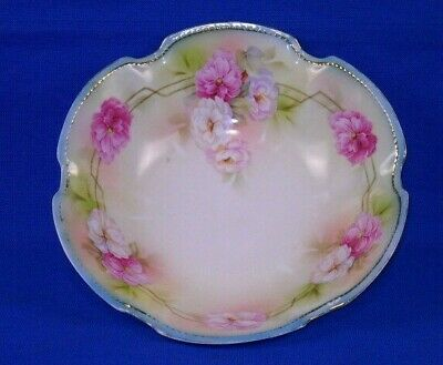 RS Germany Salad bowl Carnations Gold detail-