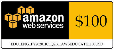AWS 100 Amazon Web Services VPS Promocode Credit Code Lightsail EC2 Immediately