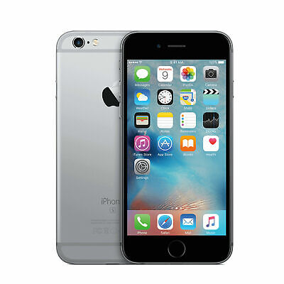 Good Apple iPhone 6S 64GB Space Gray Fully Unlocked Verizon AT-T T-Mobile