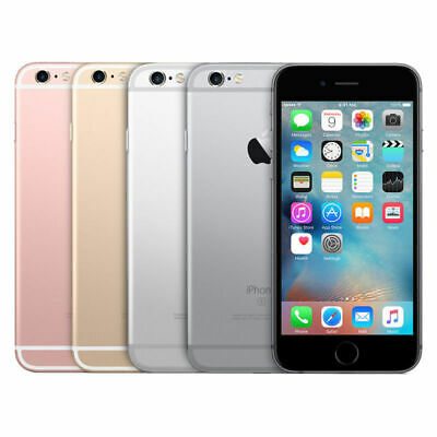 Apple iPhone 6S 16GB 32GB 64GB 128GB Gray Silver Gold Rose Gold Unlocked