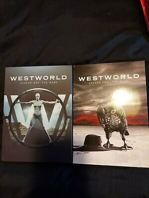 Westworld season 1 and 2 Dvd