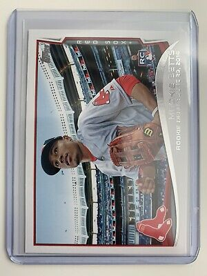 Mookie Betts 2014 Topps Update US301 Red Sox MVP RC Rookie