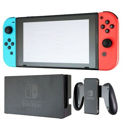 Nintendo Switch 32GB Console Bundle with Red and Blue Joy-Cons (HAC-001)