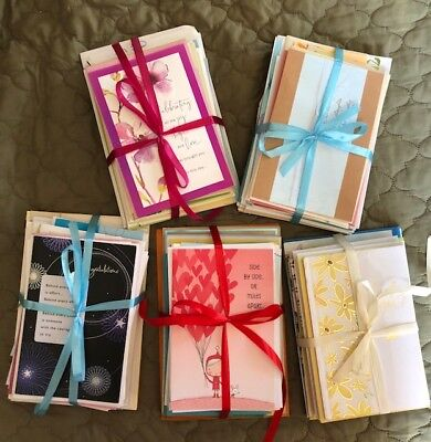 Beautiful Greeting Cards 20Lot Buy 6 - get free shipping- Ribbon wrapped-
