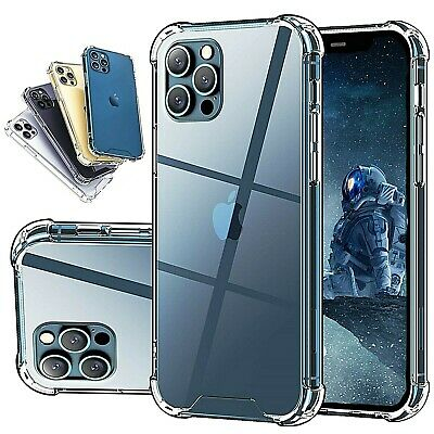CLEAR Hard Case For IPhone 12 11 Pro Max XR XS MAX X 6 6s 7 8 Plus SE Mini Cover