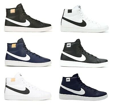 Nike Court Royale 2 Mid Top Mens Sneakers Casual Retro 80s Shoes NIB 2020