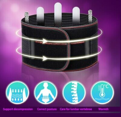 Back lumbar thermosetting waist Support Brace Posture pressure Relief Breathabl
