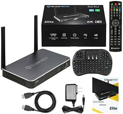 Superbox Elite Latest And Greatest Top Of The Line 4gb Ram 32Gb Memory