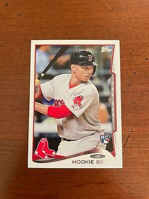 Mookie Betts 2014 Topps Update Series Rookie Card us26 - Mint Condition