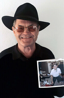 MICKY DOLENZ DIRECT 2U NEW ITEM 2 - MICKYS PERSONAL SIGNED 2020 HOLIDAY CARD