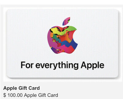 100 Apple Gift Card