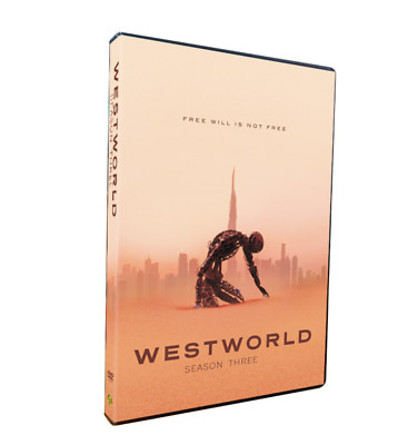 Westworld Season 3 DVD3-Disc Set Brand New Sealed Fast Shipping Region 1
