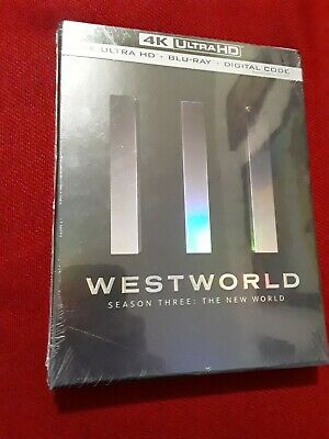 Westworld Season 3 4K UHD Disc - Blu Ray Disc - Digital BRAND NEW