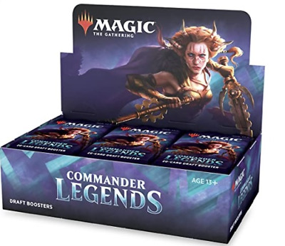 Commander Legends Draft Booster Box 24 ct- NEW SEALED MTG MAGIC THE GATHERING