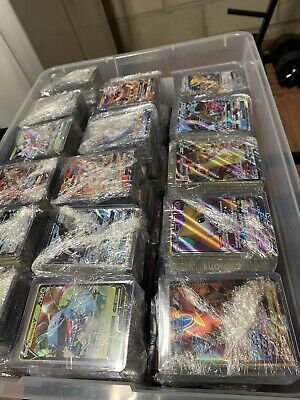 Pokemon Card Lot 100 Official TCG Cards Ultra RARE Included  GX EX or Break