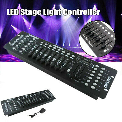 DMX-512 192 Channel Controller DJ Party Stage LED Lighting Control Console