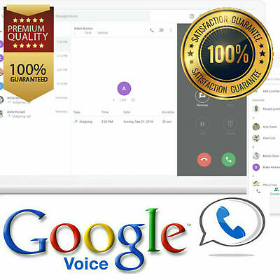 Google Voice USA Number Make - Receive CallsSMS