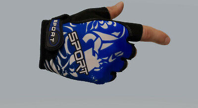 Sports Cycling Motorcycle MTB Bike Bicycle  Half Finger Gloves fingerless