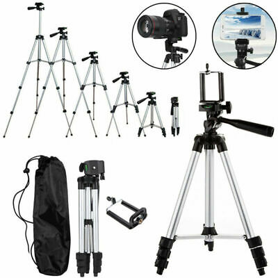 Professional Camera Tripod Stand Holder Mount For iPhone Samsung Cell Phone- Bag