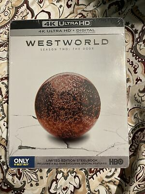 Westworld Complete Season 2 Steelbook 4K UHD-Digital NEW-Free Box Shipping