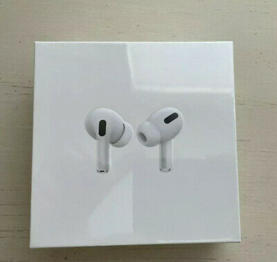 Authentic Apple AirPods Pro New in Box Sealed WhiteWireless Charging Case