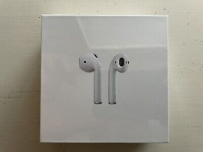 Authentic Apple AirPods 2nd Generation New Sealed with Wireless Charging Case