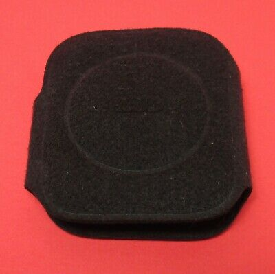 Apple Watch Coozie Protective Sleeve Felt OEM Original From Box - Black - 44mm
